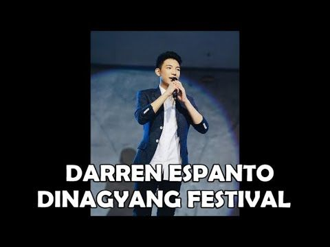 DARREN ESPANTO SINGS HAVANA TO THE ILONGOS FOR THE DINAGYANG FESTIVAL IN...