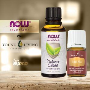 A comparison of Young Living Thieves and NOW Solutions Nature\'s Shield...Essential Oils have been around for thousands of years.