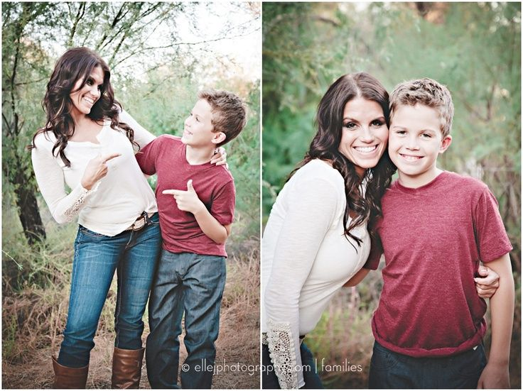 ideas for mother son photography | mother/son fun