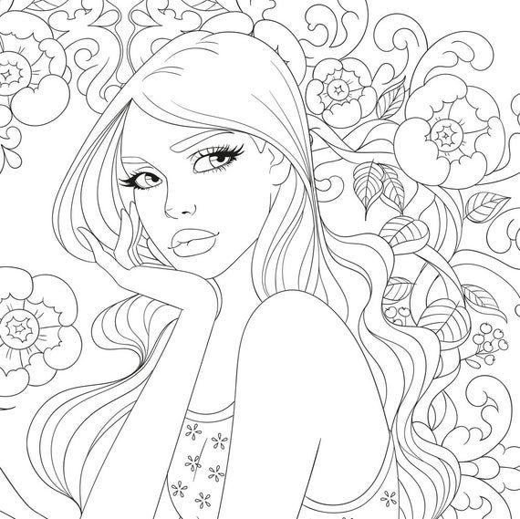 10 Pdf Coloring Pages Flower Collection With Images Mandala