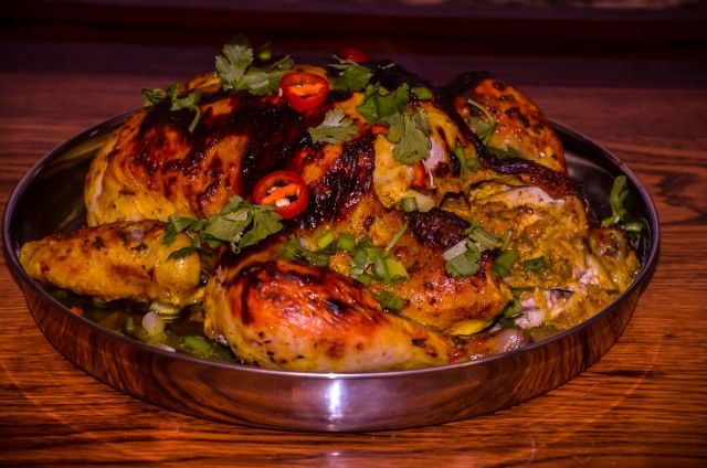 Mom's Multisenses – Roasted Curry Chicken http://indianinfluence.ca/moms-multisenses-roasted-curry-chicken/