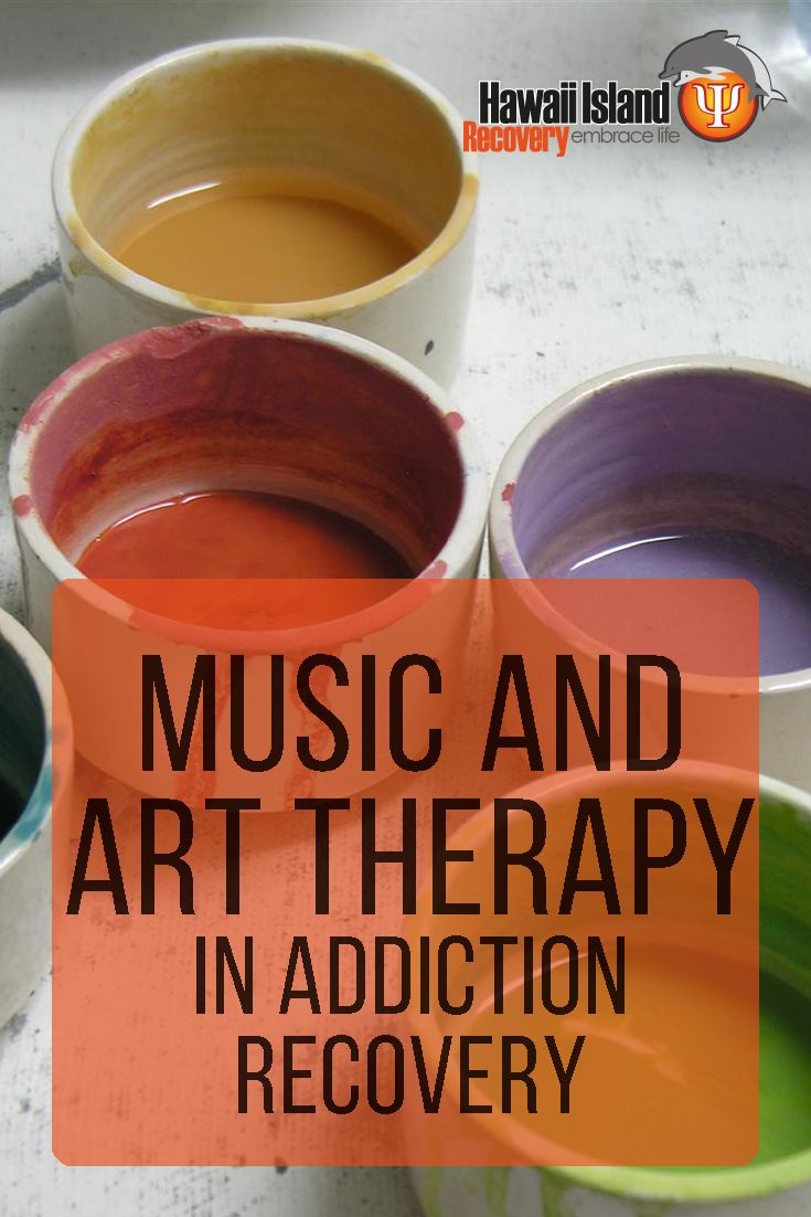 Music and art therapy have been used in drug rehab for decades, and many studies confirm their effectiveness as part of a well-rounded rehab program. #addiction #recovery #hawaii