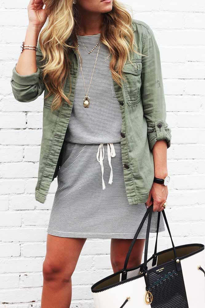 Casual Dress Ideas for Women to Look Chic Every Day ★ See more: http://glaminati.com/casual-dress-ideas/