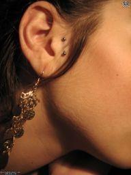 vertical tragus piercing -very tempting!