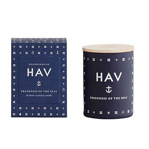 Buy SKANDINAVISK Hav Mini Scented Candle with Lid Online at johnlewis.com