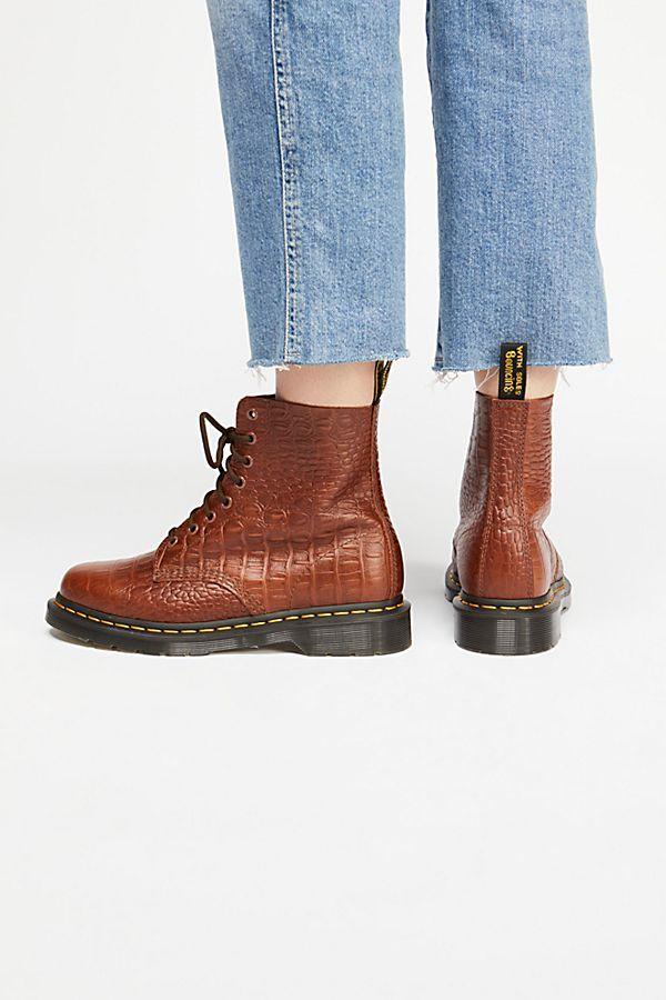 fc6077c692906 Dr. Martens Pascal Croc Boot | birthday 18 | Crocs boots, Boots, Crocs