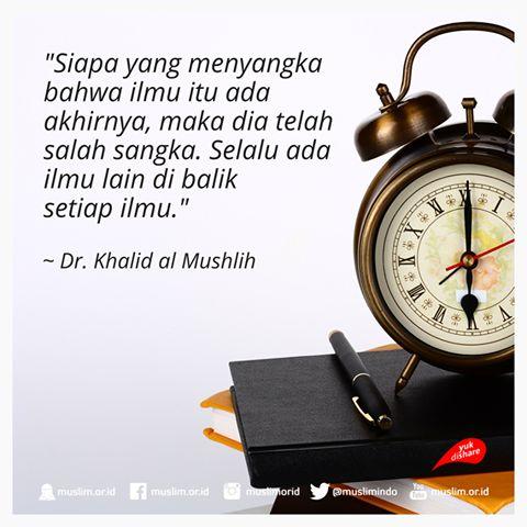 Disetiap Kebaikan dan Keburukan, ada ilmu didalamnya....