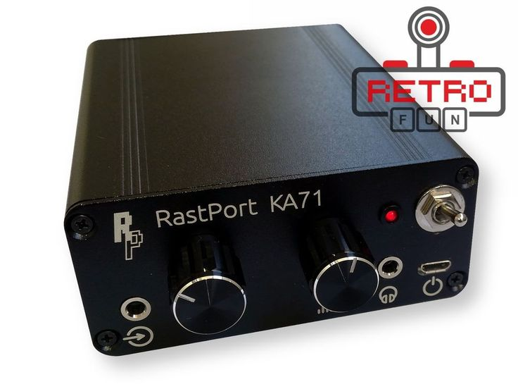 New KA 71 Stereo Channel Mixing Headphone Amplifier Crossmixing  #RastPort
