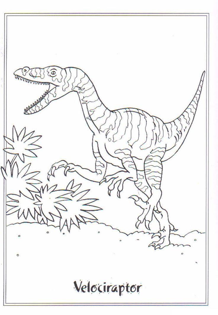 Velociraptor Ausmalbilder Ausmalbilder Velociraptor Dinosaur