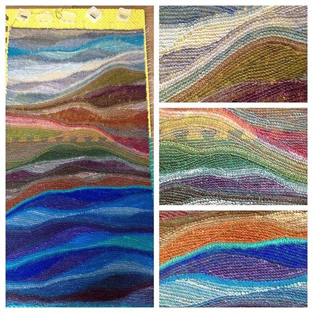 Ravelry: patbvl's Mountain Waters - swing knitting