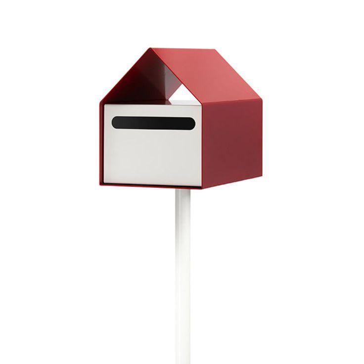 top3 by design - Ute Design - arko letterbox red + white