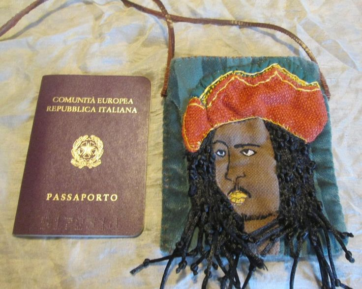 Custodia passaporto Bob Marley di StrassicoloraItalia su Etsy