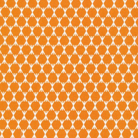 Stem Dot Gold organic fabric - Foxglove by Aneela Hoey for Cloud9 - modern quilt fabric, modern fabric, modern blender, marigold fabric