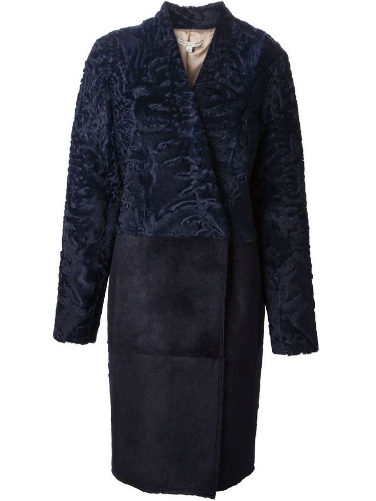 Gabriele Colangelo Astrakhan Panel Coat - Suit - Farfetch.com