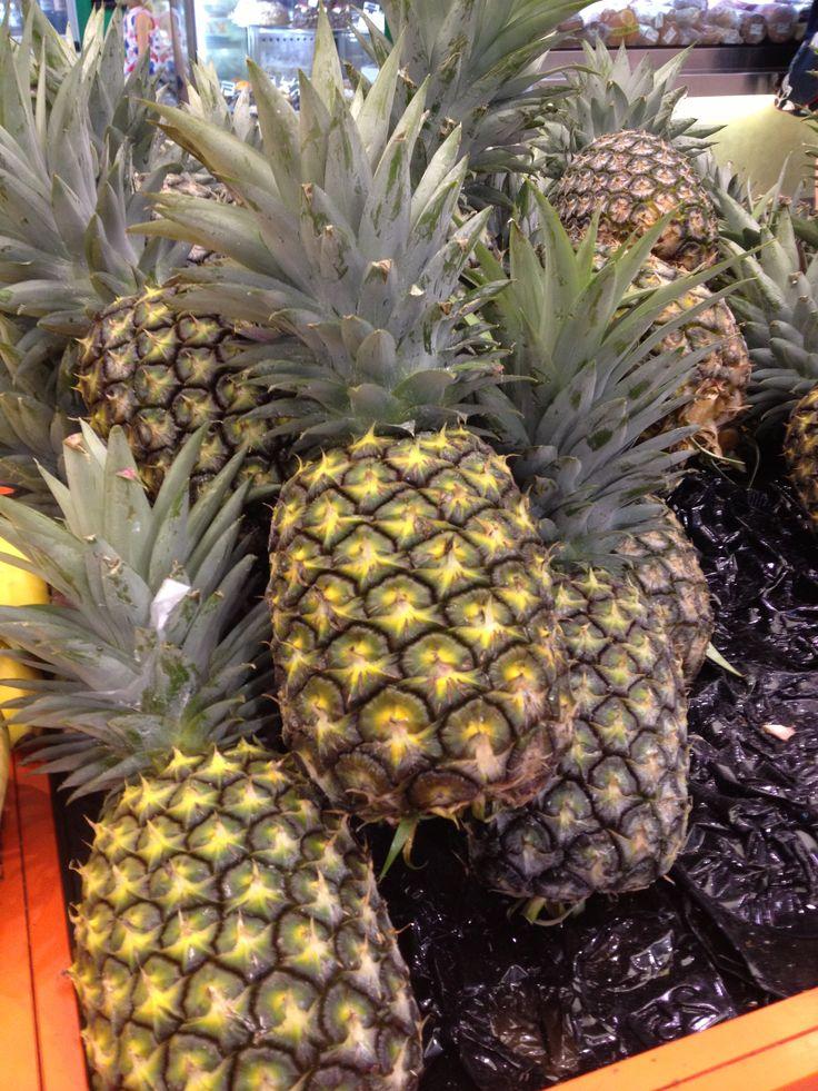 Fresh Pineapples Yum!