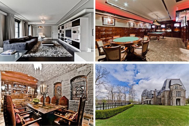 Celine Deon Mansion Quebec for sale  29 plus million Canadian...anyone want to purchase!?!