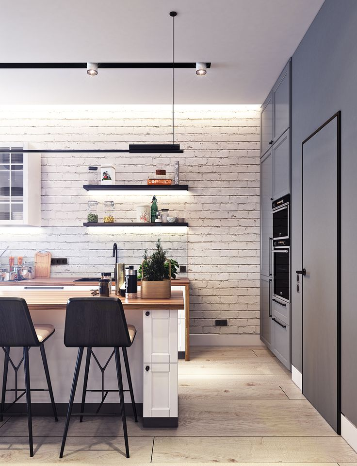 7 best Design project of the apartment 50 sq.m. in Zagreb images on ...