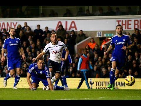 Tottenham Hotspur vs Chelsea 5-3 → All Goals Highlights 01/01/2015 HD