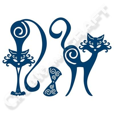 Tattered Lace Cats Die (141654)   Create and Craft