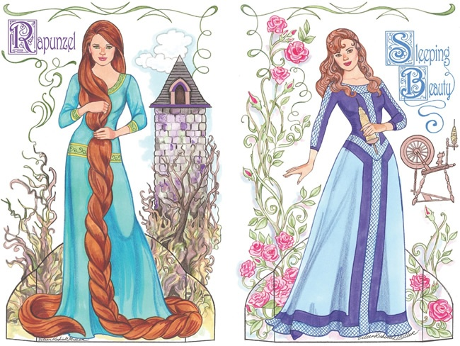Dover design-Fairy Tale Princesses