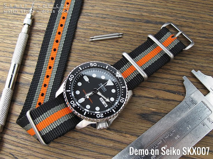 Image result for seiko skx nato strap