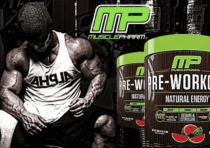 MusclePharm's New Natural Energy Pre-Workout is the Best Thing Since Sliced Bread