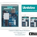 Control Arduino Board Wirelessly With iPhone, iPad or iPod Using iArduino App and Ethernet Shield