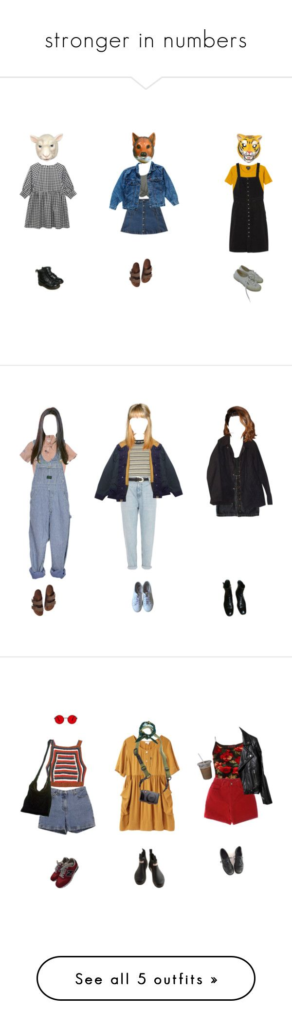 """""""stronger in numbers"""" by medi-ocre on Polyvore featuring Bebe, Levi's, Monki, M.i.h Jeans, Birkenstock, Superga, Dr. Martens, J.Crew, Topshop and River Island"""