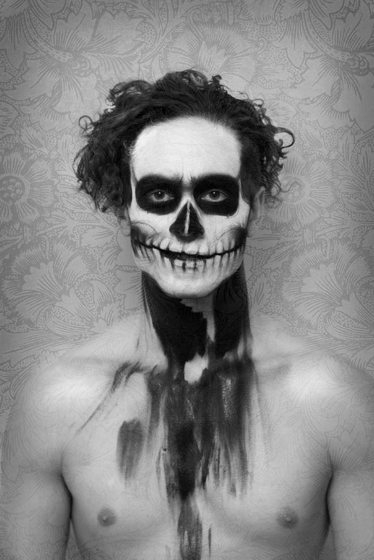 #skull #blackandwhite #photography #facepaint