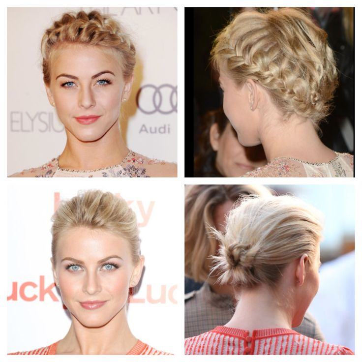 Julianne Moore Updo Hairstyles