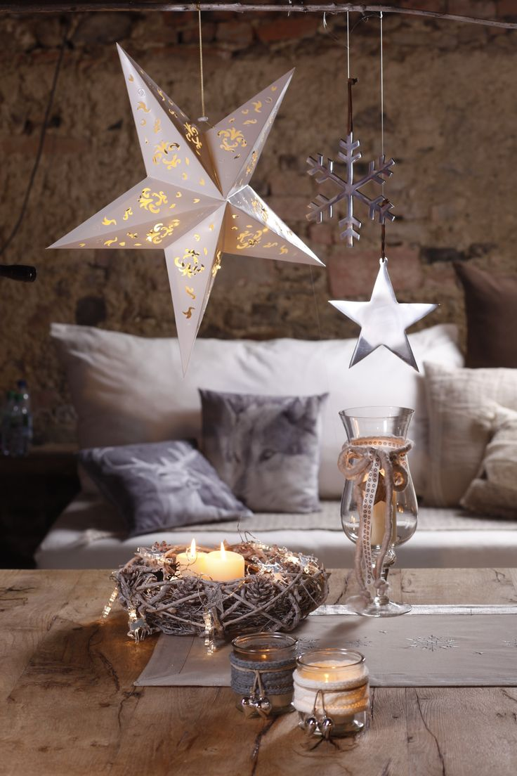 Schne Deko Ideen Fr Eine Zauberhafte Weihnachtszeit Gibt Es Jetzt Bei Ernstings Family Weihnachten WeihnachtenWeihnachtsdekorationWohnzimmerModerne