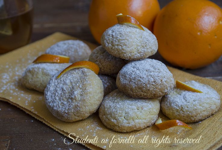 ricetta biscotti morbidi all'arancia ricetta facile veloce pasta frolla all'arancia