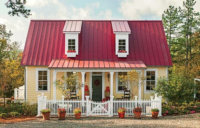 """Smaller but Smarter"" Southern Living ""Garden Home Cottage"" House plans for eco-friendly living!"