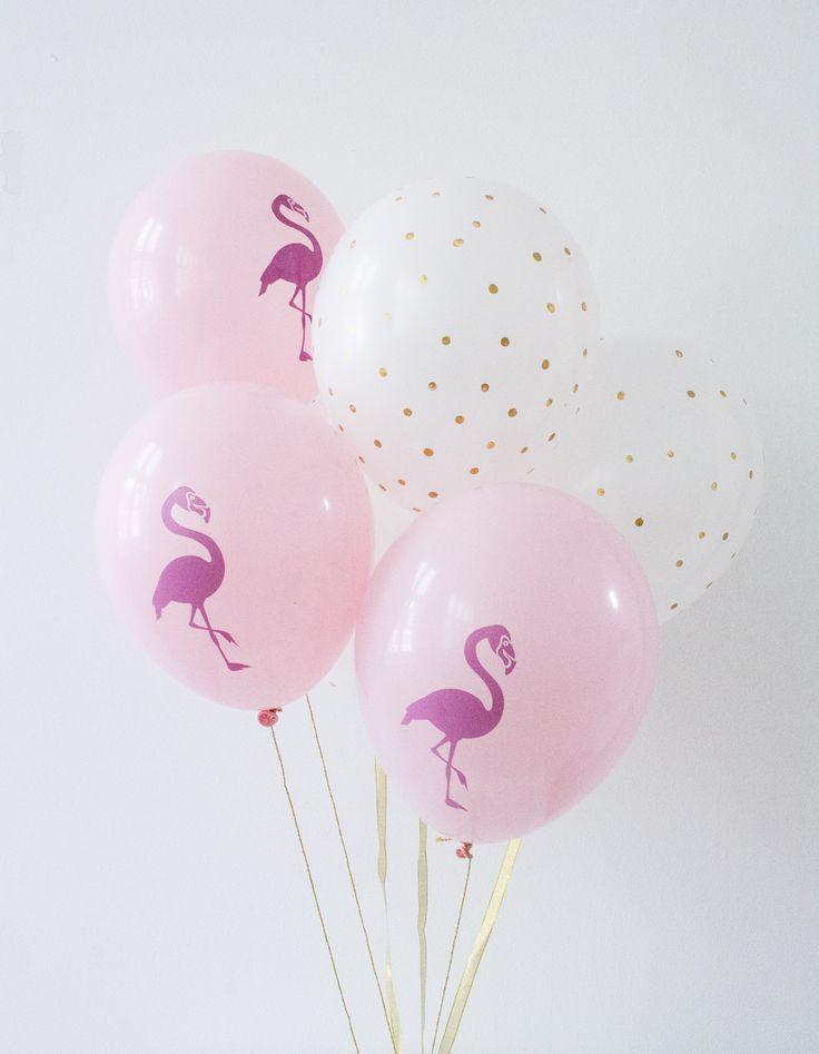 A Flamingo party.                                                                                                                                                                                 More