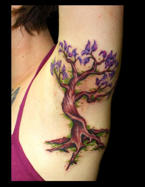Bonsai Tattoo Meaning: 18 Best Japanese Bonsai Tree On Cliff Tattoo Images On