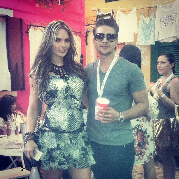 Colombiamoda con @melissagiraldo1 y @luisfdogato!!!