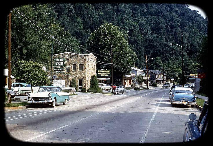 Main Street in Gatlinburg, Tennessee - July 31 1959