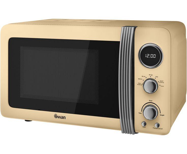 Swan Retro Sm22030cn 20 Litre Microwave Cream