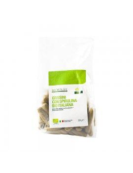 Grissini con spirulina italiana biologica Microlife-
