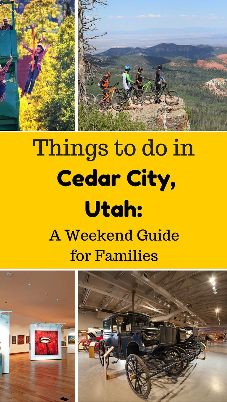 Visiting Cedar City Utah? Click for a complete itinerary including where to stay, what to do & where to eat.