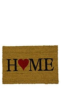 HOME HEART 40X60CM DOORMAT #NYCStyling #Inspiration