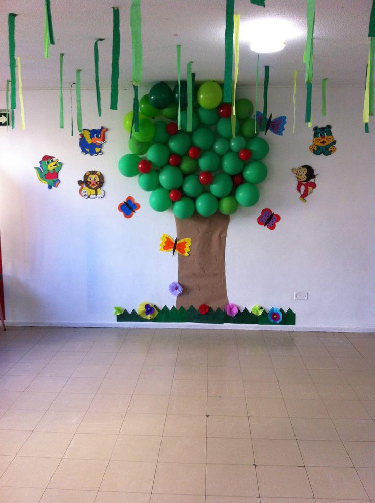 Decoración de aula infantil