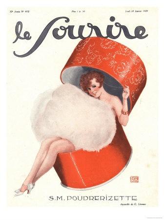 Le Sourire, Glamour Erotica Magazine, France, 1920
