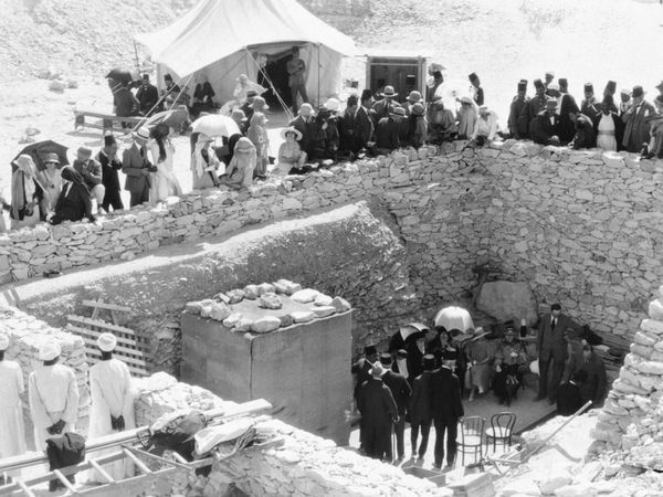 "King Tut Tomb Discovery: Tutankhamun Tomb 1922. For Many Years, Rumors Of A ""Curse"