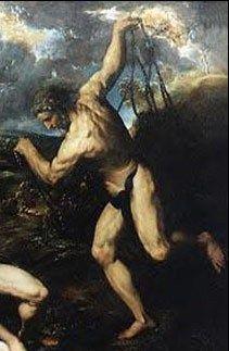 Hephaistos - God van vuur, smeedwerk en ambachten.