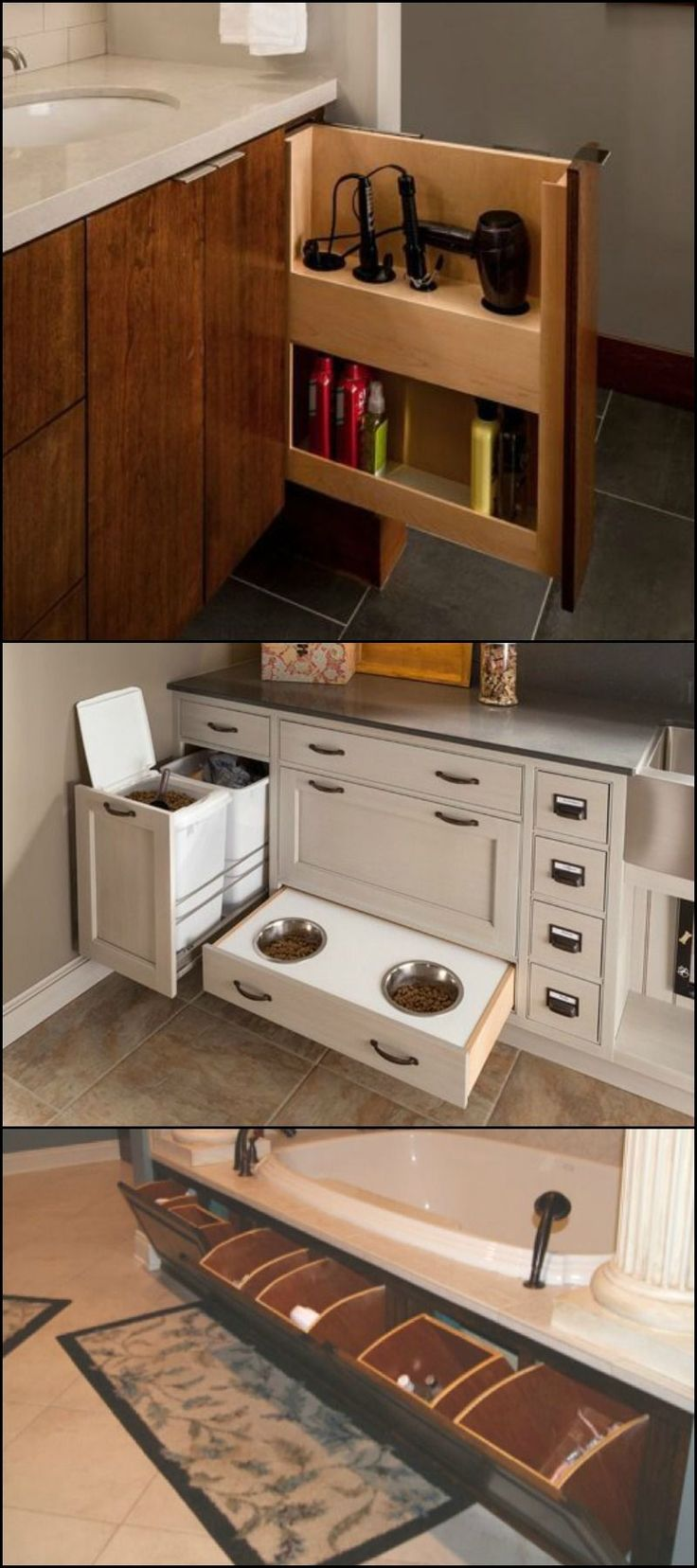 """A place for everything and everything in its place!"" Have you ever seen a home on television and thought ""No one lives in a house as tidy as that!""  It's all about storage and accessibility. Take a look at all the hidden storage ideas in our album and see which ones can help you get the 'television look'!  Feeling inspired?"