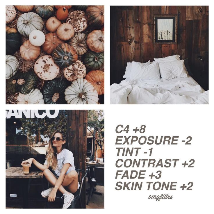 620 отметок «Нравится», 22 комментариев — vsco filters (@omgfiltrs) в Instagram: «Paid filter❕This is a great fall filter which is easy to match and absolutely great for a feed.…»