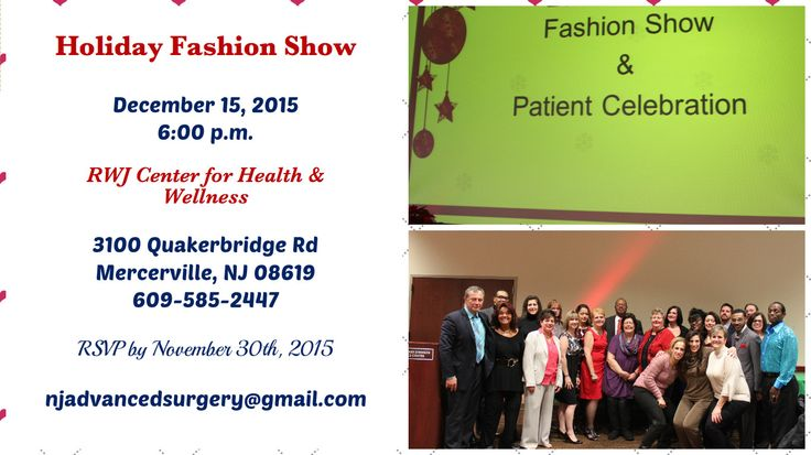 Holiday Fashion Show Holiday Fashion Fashion Show Health And Wellness