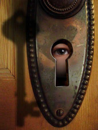 Espn keyhole peeing tom think, that
