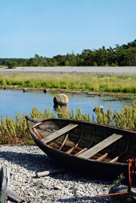 Boat in Gotland, Sweden